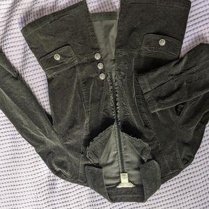 Velvet black Blazer